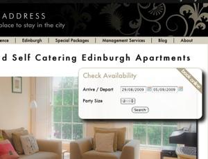 The Edinburgh Address, Date Picker