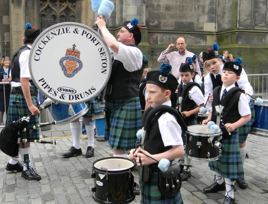 Cockenzie and Port Seton Pipe band