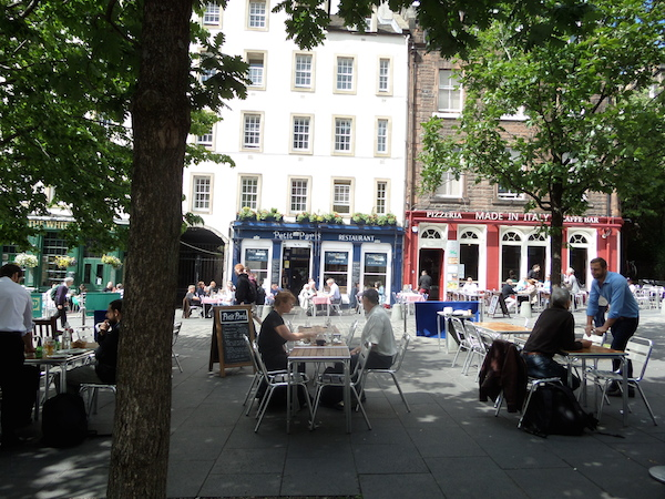 the grassmarket in edinburgh